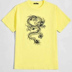 Other - yellow dragon tee
